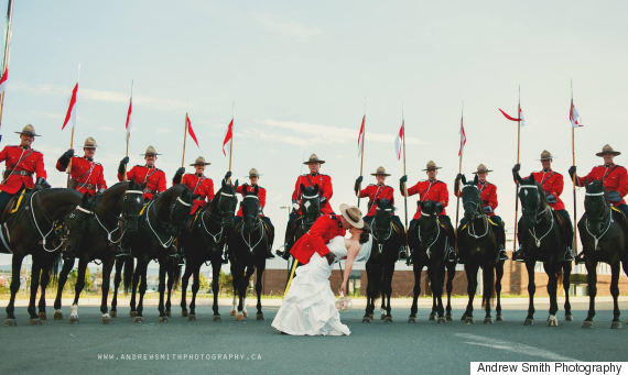 musical ride wedding photo