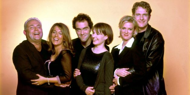 The stars of 'Cold Feet'