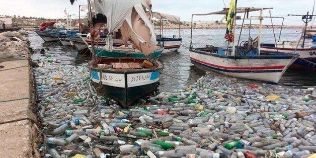 Déchets au port de Gabès