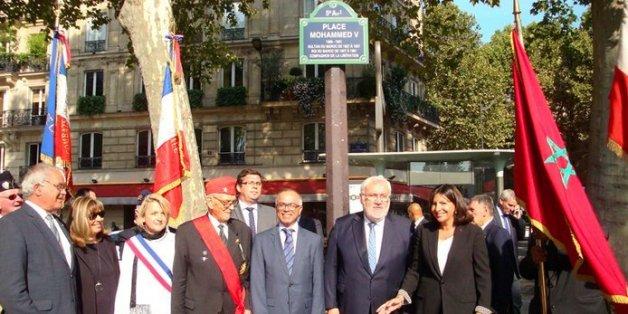 Paris rend hommage à Mohammed V, Compagnon de la Libération