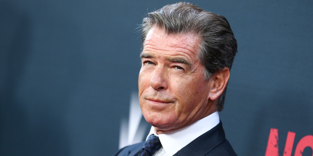 "Pierce Brosnan attends the LA Premiere of ""No Escape"" held at Regal Cinemas L.A. LIVE on Monday, Aug. 17, 2015, in Los Angeles. (Photo by John Salangsang/Invision/AP)"