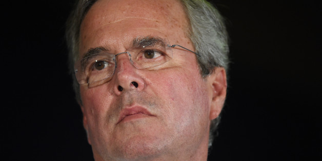 Republican presidential candidate, former Florida Gov. Jeb Bush listens during a town hall meeting on Monday, Aug. 17, 2015, in Columbia, S.C. (AP Photo/Rainier Ehrhardt)