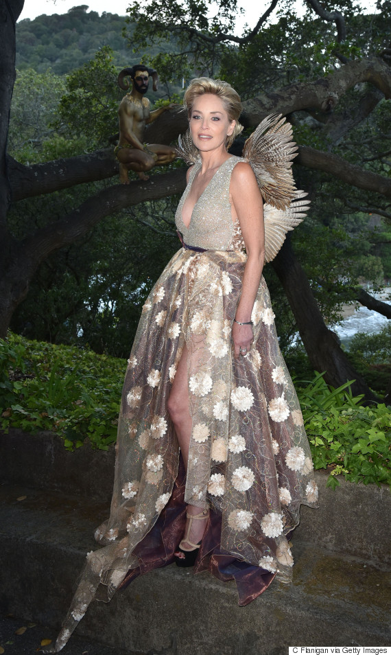 sharon stone fairy wings