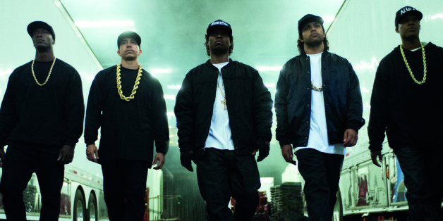 """Die Gruppe N.W.A in """"Straight Outta Compton"""""""