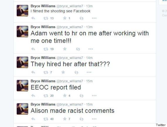 bryce williams tweets