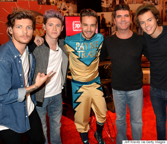 simon cowell one direction