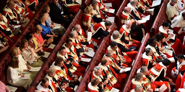File photo dated 27/05/15 of peers and guests in the House of the Lords, as David Cameron is preparing to brave accusations of cronyism by announcing a string of peerages for Tory advisers and donors.