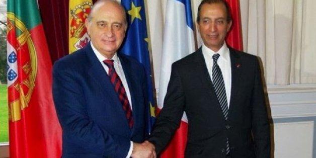 Les ministres de l'Intérieur espagnol et marocain, Jorge Fernandez Diaz et Mohammed Hassad
