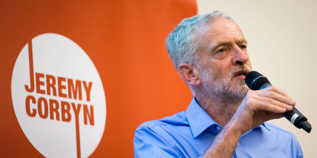 SOUTHAMPTON, ENGLAND - AUGUST 25:  Labour Leadership Candidate Jeremy Corbyn speaks at a rally for supporters at the Hilton at the Ageas Bowl on August 25, 2015 in Southampton, England. Jeremy Corbyn remains the bookies favourite to win the Labour leadership contest which will be announced on September 12 after the ballots close on September 10  (Photo by Matt Cardy/Getty Images)
