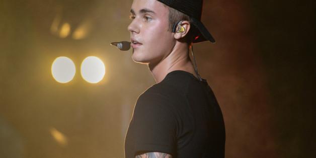 Justin Bieber beim Billboard Hot 100 Music Festival