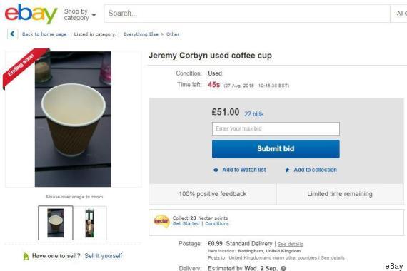 corbyn coffee cup