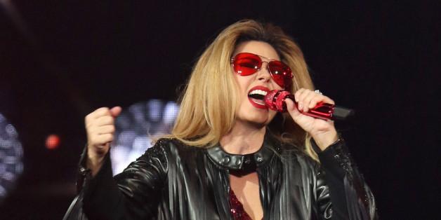 Shania Twain bei einem ihrer Konzerte