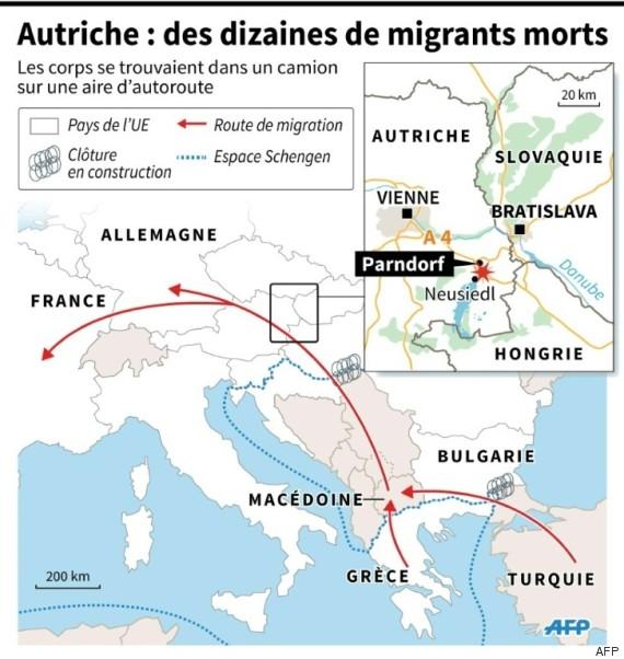 carte migrants