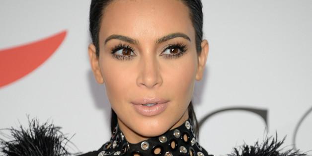 Kim Kardashian kurz nach dem Bekanntwerden ihrer zweiten Schwangerschaft