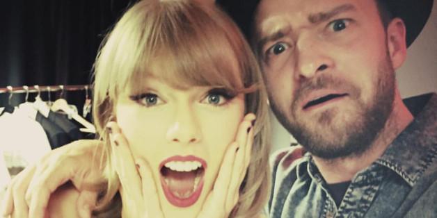 Taylor Swift und Justin Timberlake