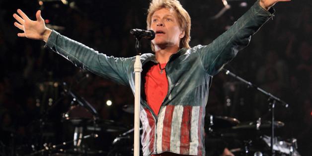 Bon Jovi an der Spitze der deutschen Albumcharts