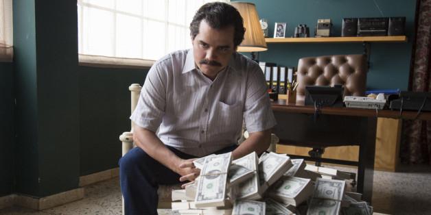 """Walter Moura als Pablo Escobar in der neuen Netflix-Serie """"Narcos"""""""