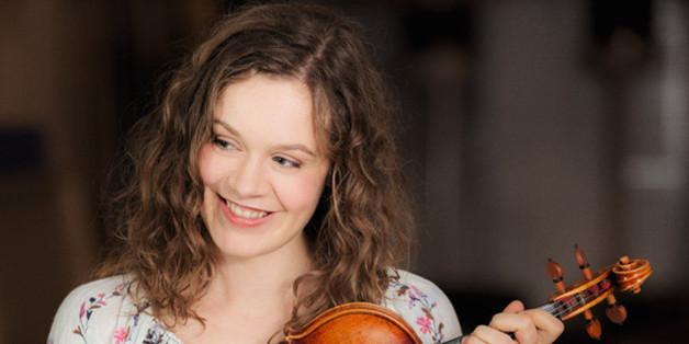 Jördis Tielsch ist eine Meisterin an der Violine