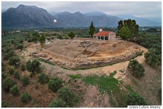 ancient greek palace