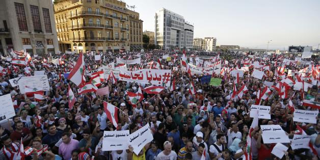 """Des libanais en colère contre """"toute"""" la classe politique"""