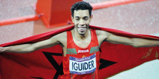 Pékin 2015: le Marocain Abdelaati Iguider revient de Pékin avec une médaille