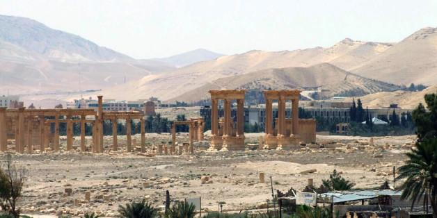 Die vom IS besetzte Ruinenstadt Palmyra