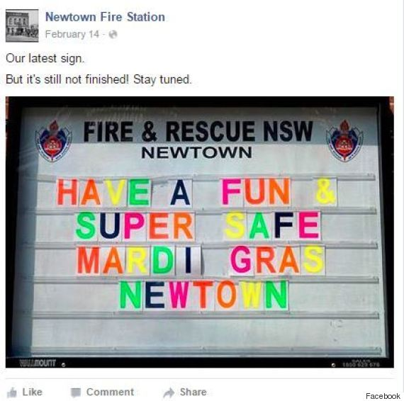newtown fire station