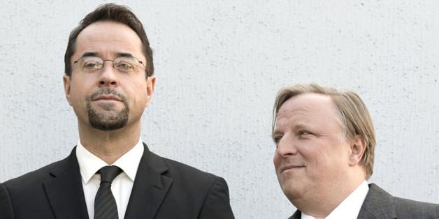 Prof. Boerne (Liefers, l.) und Kommissar Thiel (Prahl) sind das beliebteste Team