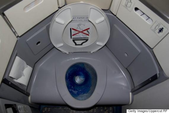 toilet airplane