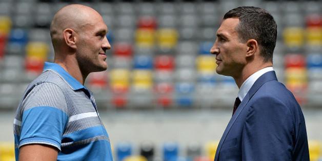 Wladimir Klitschko (r.) gegen Tyson Fury: Der Kampf wird musikalisch untermalt