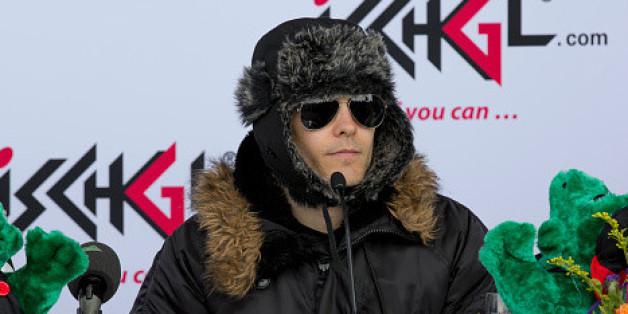 Jared Leto sollte vielleicht wieder eine Mütze tragen