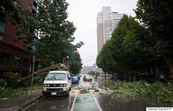 bc storm vancouver