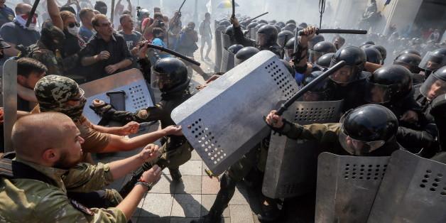 Kiew versinkt wieder einmal in Gewalt - ein Toter bei Protesten