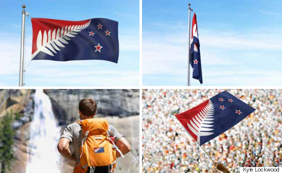 silver fern red white and blue
