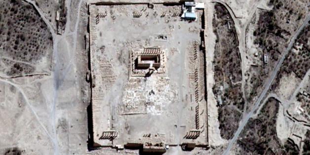 À Palmyre, Daech a détruit le temple de Bêl