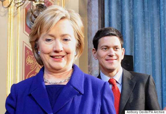 david miliband hilary clinton