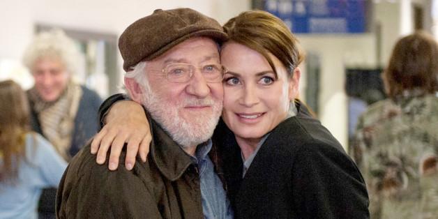 Dieter Hallervorden mit Schauspiel-Kollegin Anja Kling
