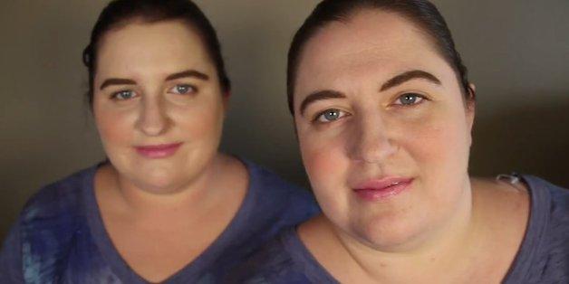 Diese Frauen sehen aus wie Zwillinge, sind aber nicht verwandt