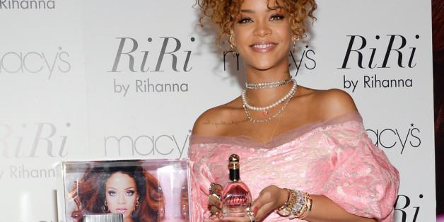 Rihanna bei der Vorstellung ihres neues Duftes