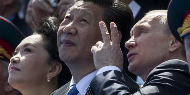 Putin ist Ehrengast in China - und die Angst vor dem Nachbarn wächst