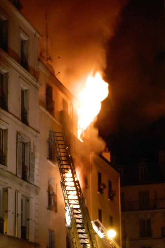 incendies paris