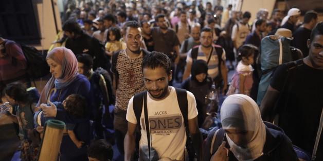 Tausende Flüchtlinge in Griechenland angekommen