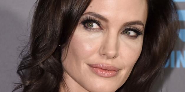 Angelina Jolie beherrscht den lasziven Blick