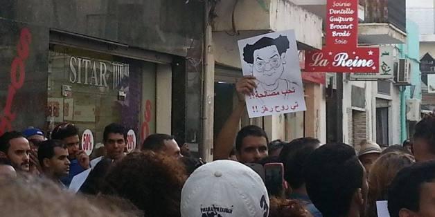 Rassemblement sur la place Mohamed-Ali