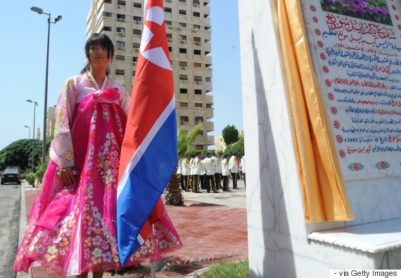 syria-north-korea-park-kim-il-sung