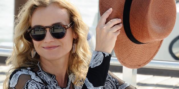 Diane Kruger sitzt in der Jury