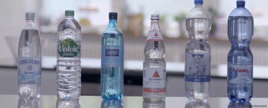 mineralwasser discounter supermarkt