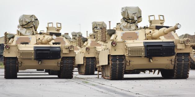 Sollen bald nach Osteuropa - USA reaktivieren Militärgerät in Deutschland