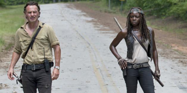 Was, wenn Rick (Andrew Lincoln) und Michonne (Danai Gurira) die letzten Menschen auf Erden wären?