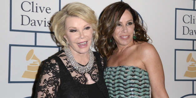 Joan und Melissa Rivers bei den Grammy Awards 2014